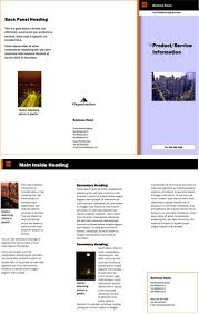 free brochure templates small business resource library