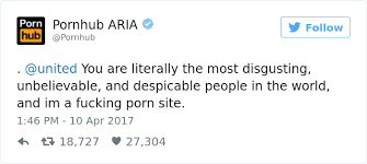 Pornhub Meme - 10 of the funniest reactions to united airlines violently