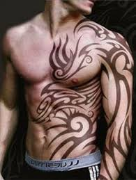 tribal tattoos for guys shoulder and