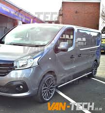 renault trafic 2016 renault trafic new shape with side bars and wheels van tech