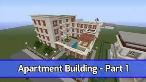 Minecraft House Design Xbox 360 by Minecraft Let U0027s Build Apartment Building Xbox 360 Tutorial
