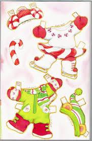 193 best christmas paper dolls images on pinterest christmas