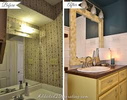 Before After Bathroom Makeovers - 20 day small bathroom makeover u2013 before and after