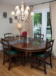 What Size Chandelier For Dining Room Dining Room A Classic Dining Room Chandelier With Shades In A