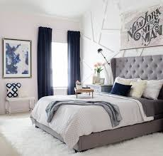 Curtains In The Bedroom Navy Blue Bedroom Curtain Ideas 15 Ways To Decorate With