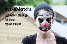 evil halloween makeup halloween makeup evil clown payaso maligno youtube