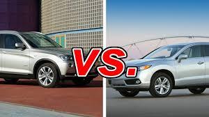 acura vs bmw bmw x3 vs acura rdx carsdirect