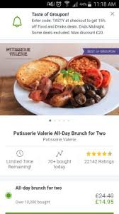 groupon cuisine groupon deal picture of patisserie valerie belfast tripadvisor