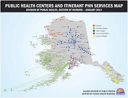 Barrow Alaska Map by Public Health Leadership