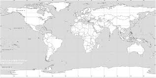 Simple Blank World Map by Maps Printable World Map With Countries