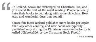 the christmas book flood a beloved icelandic tradition iceland