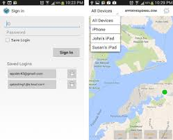 find my iphone from android find iphone android devices xfi locator lite apk