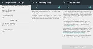 how to clear history on android how to clear search and location history in maps on the web