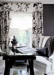 Black And White Curtain Designs 201 Best Drapery Panels Images On Window Dressings