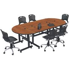 Folding Conference Tables Height Adjustable Folding Conference Table Conference Use350x350