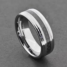 mens comfort fit wedding bands tungsten carbide ring comfort fit wedding band men silver blue