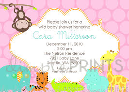animal baby shower printable invitation dimple prints shop