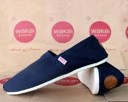 Sepatu Wakai jual wakai shoes navy belvanya shoes ol shop