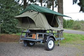 jeep utility trailer roof top tents on utility trailer u2013 compact camping concepts