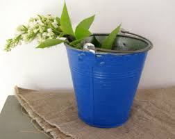 Tin Buckets For Centerpieces by Tin Pail Etsy
