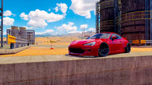 widebody subaru brz widebody subaru brz montage fh3 youtube