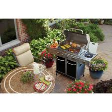 better homes and gardens 5 burner gas grill black walmart com