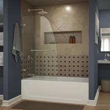 Frameless Bathroom Doors Shop Bathtub Doors At Lowes Com