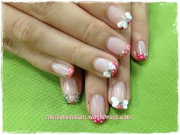 yixin u0027s 3d butterfly ribbon nails obsession