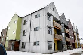Three Story Building Local Nonprofit Nears Completion On Three Story Affordable Rental