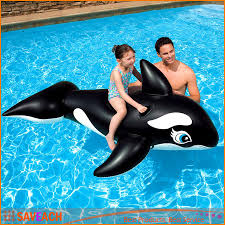 Inflatable Pool Floats by 193 119cm Pvc Inflatable Black Whale Pool Float 2016 Summer Brand
