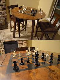 Chess Table Our Diy Chess Table Growing Your Family