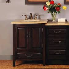 Vanities Without Tops Bathroom Design And Decoration Using Mahogany Wood Bathroom