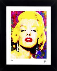 Marilyn Monroe Art Marilyn Monroe Art Print Framed Painting Artistic Wall Decor