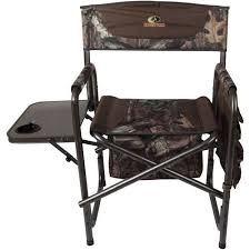 Folding Directors Chair With Side Table Mossy Oak Director U0027s Chair With Side Table And Pockets Mossy Oak