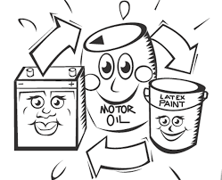 reduce reuse recycle kids coloring pages gekimoe u2022 57044