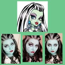 monster high face paint u0026 makeup designs free video tutorial http