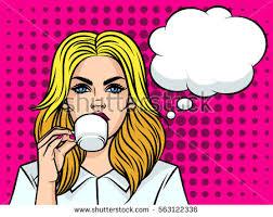 beautiful cartoon women art cartoon girl with coffee download free vector art stock graphics