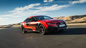 audi days audi s autonomous vehicle gets track days popular science