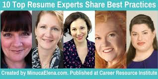 Resume Experts 10 Top Resume Experts Share Best Practices U2013 Part 2