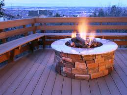 Make A Firepit How To Make A Firepit Out Of Bricks Fireplaces Firepits