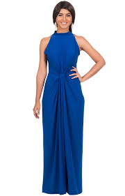 jessy long sleeveless maxi dress cocktail gown