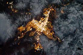 Wildfire From Space by The Most Amazing Images Nasa Took Of Earth From Space This Year
