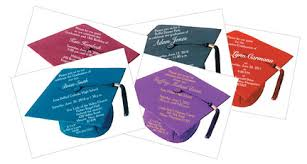 graduation cap invitations invitations for a party on a cruise ship