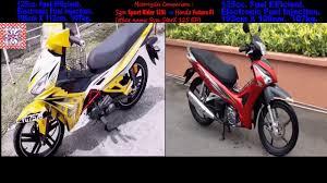 future honda honda future fi sym sport rider 125i or starx 125 motorcycles