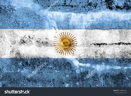 argentina flag painted on grunge wall stock illustration 169881032