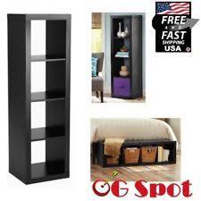 4 cube shelf organizer versatile bookcase tv stand storage