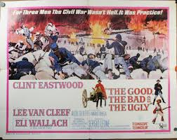 Good Bad Ugly The Good The Bad And The Ugly U201d Original Sergio Leone Poster