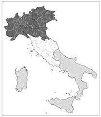 Provinces Of Italy Map Psychological Health Risks For Workers In Italy