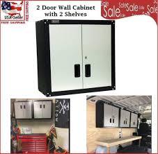 locking wall cabinet steel steel garage wall cabinet 2 door shelf storage unit security lock