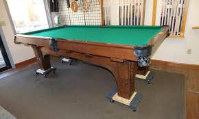 brunswick mission pool table antique tables